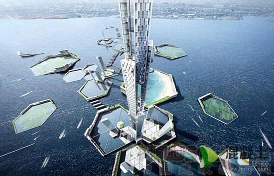 日本欲建造1700米世界第一高楼